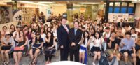 """55th Embassy Youth Forum - Real People Talking with Marc Knapper, Deputy Chief of Mission on """"Current Trends in U.S.-Korea Relations And Career Paths and the Life of a Diplomat, including His Role as DCM"""" at the American Center Korea"""