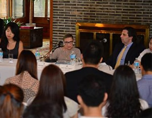 """49th Embassy Youth Forum - Real People Talking with Ruth Bader Ginsburg, Associate Justice, Supreme Court of the United State on """"Justice and Women's Rights"""""""