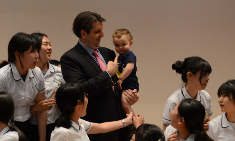 U.S. Ambassador Mark W. Lippert visited Busan on June 23-24, 2016.