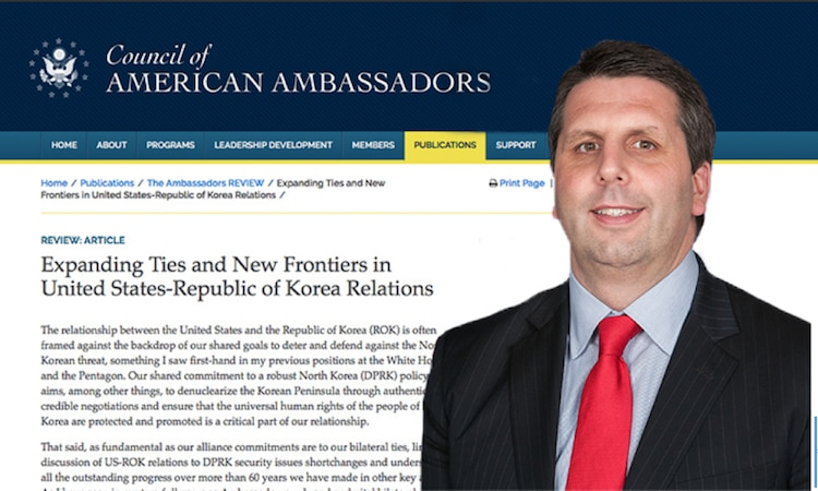 (The Ambassadors REVIEW) Expanding Ties and New Frontiers in U.S.-ROK Relations