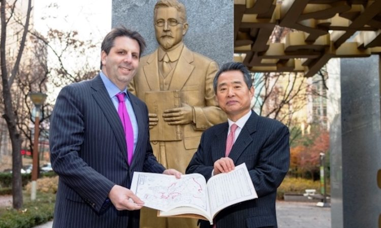 Ambassador Lippert visits the Homer B. Hulbert Memorial