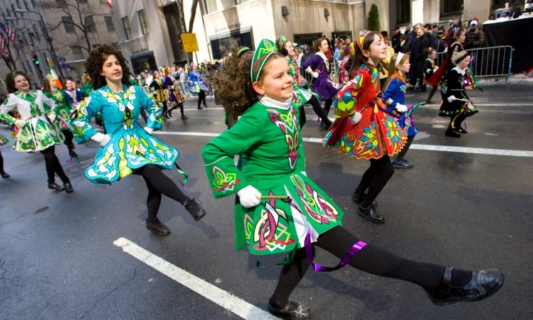 St. Patrick's Day is embraced by Americans of every ethnic background. (© AP Images)