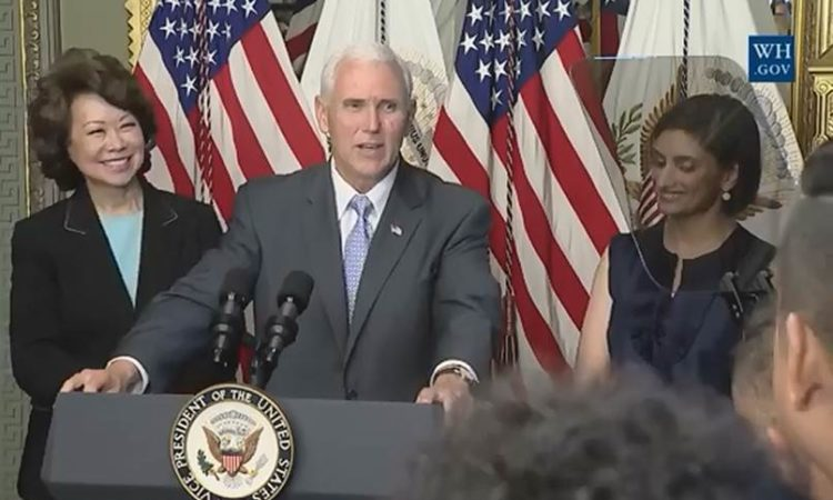 Remarks by Vice President Pence at a Reception for Asian American and Pacific Islander Heritage Month