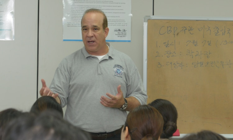 CBP Attaché Trains Airline, Airport Security, Immigration Service staff