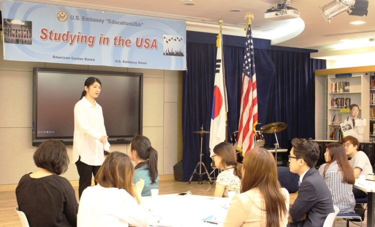 EducationUSA : Seminar  U.S. Embassy  Consulate in Korea
