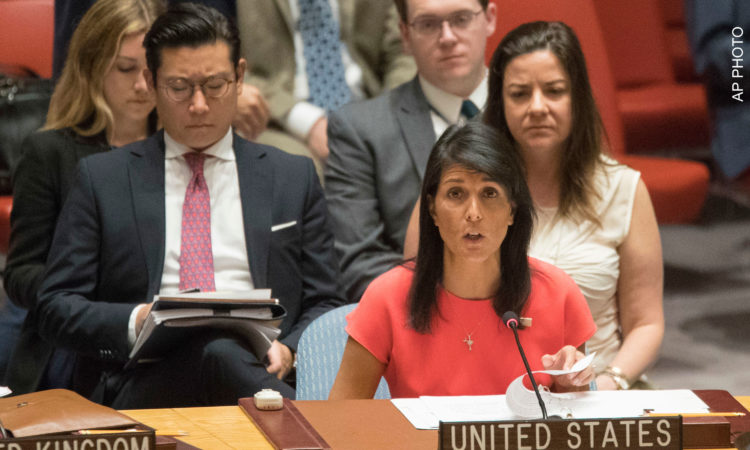 Ambassador Haley Discusses North Korea at UN Security Council