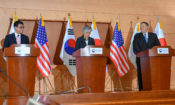 Press Availability With Korean Foreign Minister Kang Kyung-wha and Japanese Foreign Minister Taro Kono