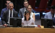 Ambassador Haley gives remarks at a UN Security Council