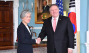 Secretary Pompeo Meets with Republic of Korea Foreign Minister Kang Kyung