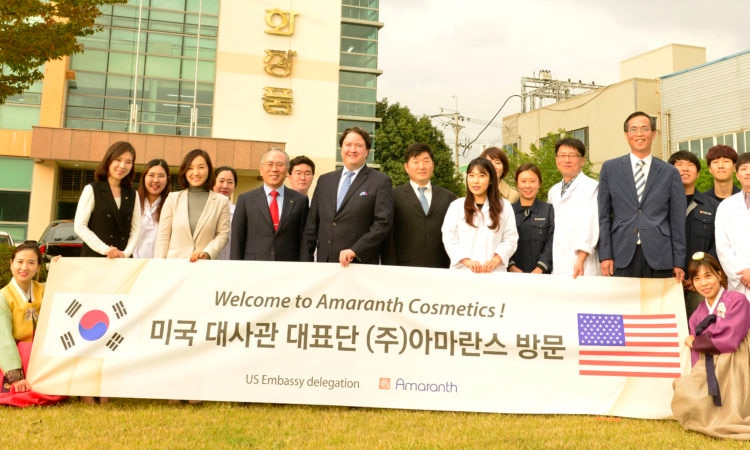 Chargé d' Affaires Tours Amaranth Cosmetics Company