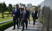 Ambassador Harris Pays Respects to the Fallen U.N. Soldiers