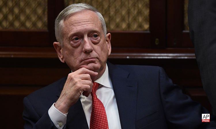 Secretary of Defense James N. Mattis