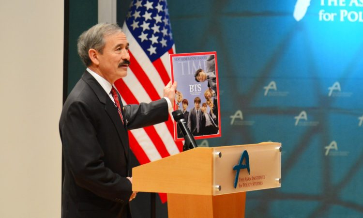 Ambassador Harry Harris at The Wilson Center · The Asan Institute Joint Symposium