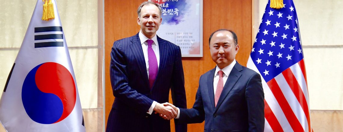 Assistant Secretary for Energy Resources Meets MOFA Deputy Minister for Economic Affairs