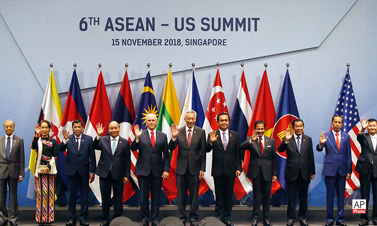 Remarks by Vice President Pence at the 6th U.S.-ASEAN Summit