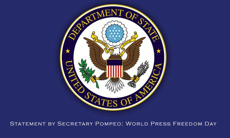 Statement by Secretary Pompeo: World Press Freedom Day